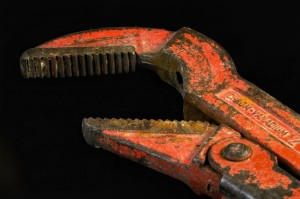 Pipe wrench in Eindhoven